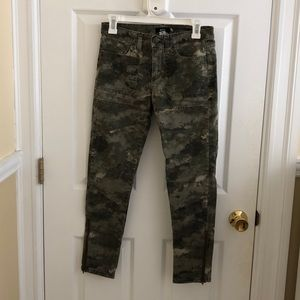 Army patterned pants from Urban Outfitters